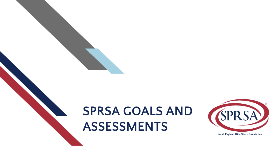 SPRSA Goals and Assessments